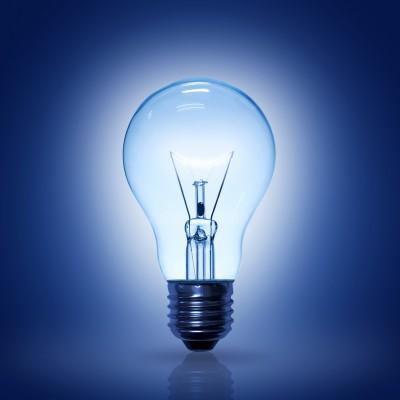 Lightbulb-Blue
