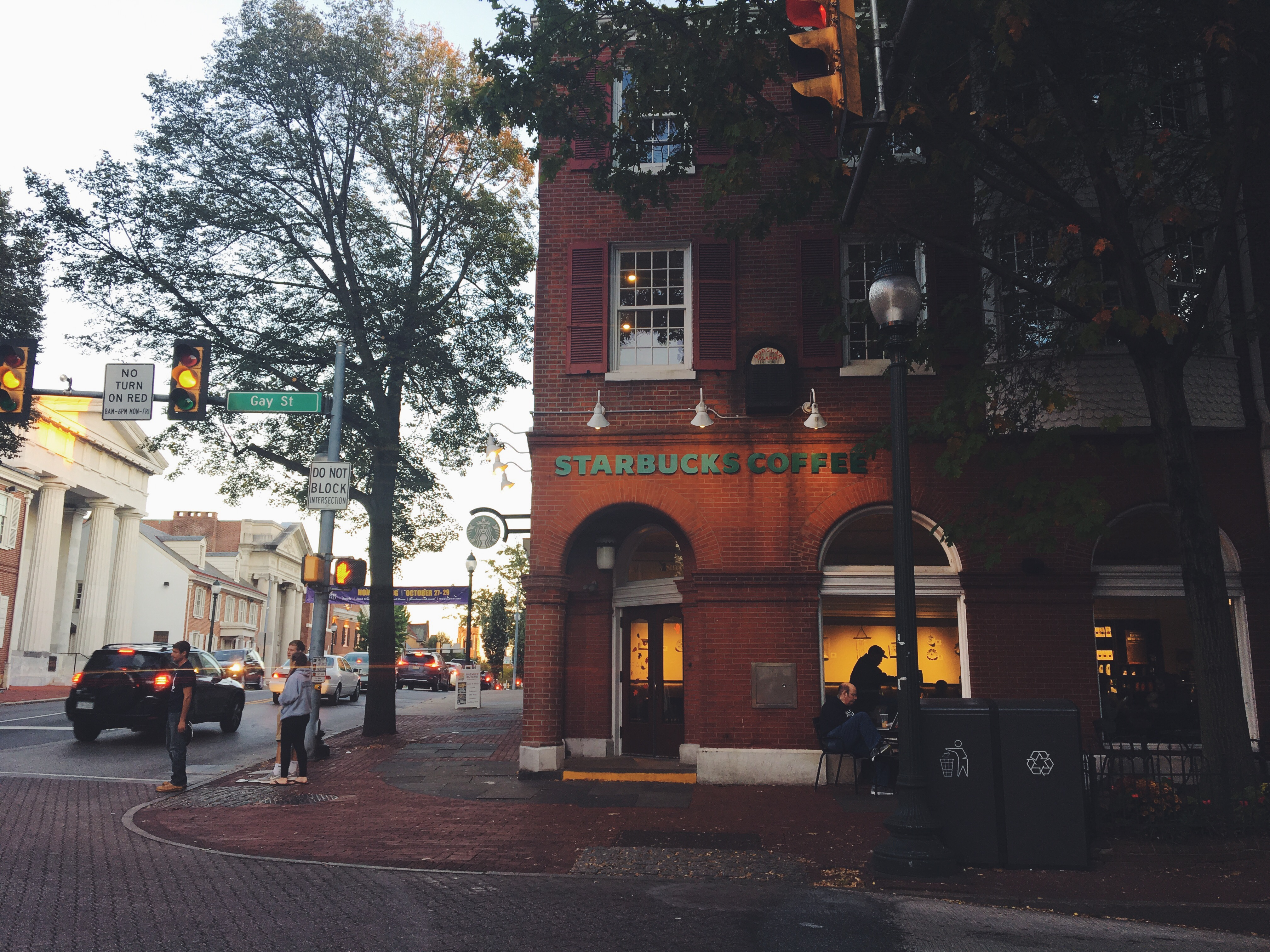 West Chester study spots: Starbucks located on the corner of Gay and High Streets