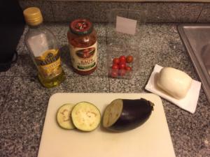 Healthy Mini Eggplant Pizza