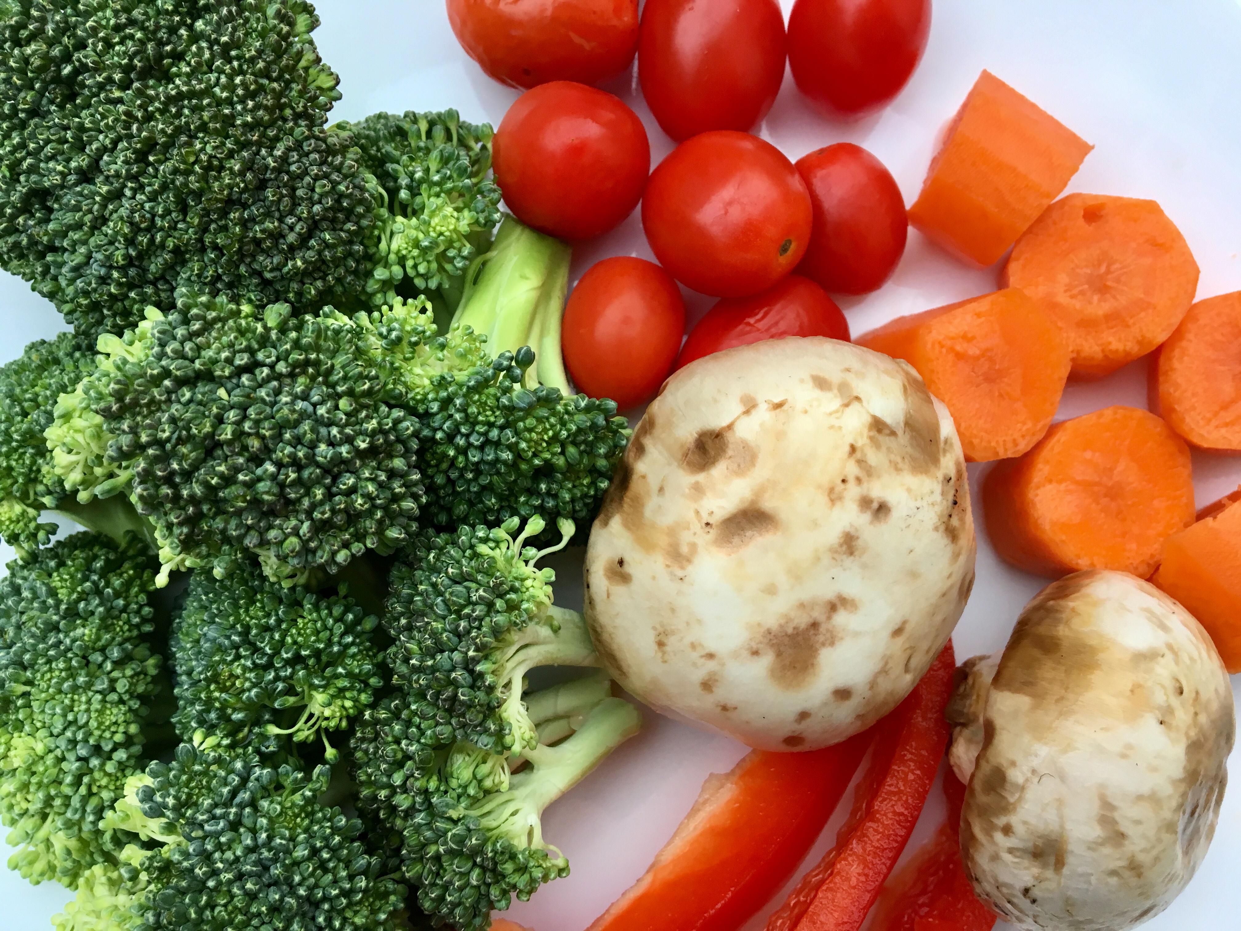 Healthy Snacks, veggies