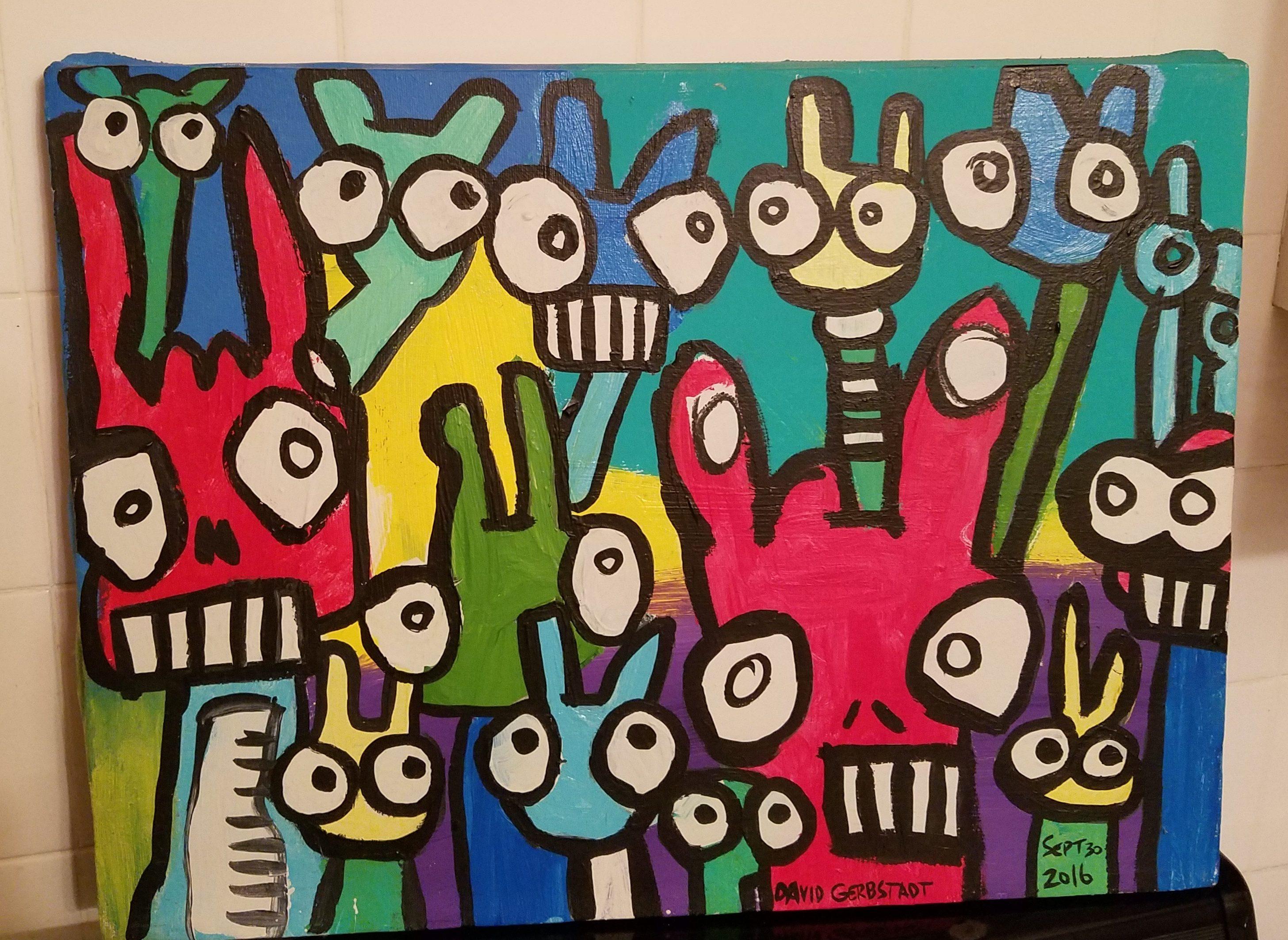 Feeling stressed or depressed; Painting
