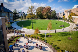 West Chester University's campus, where you'll find plenty of clubs and activities.