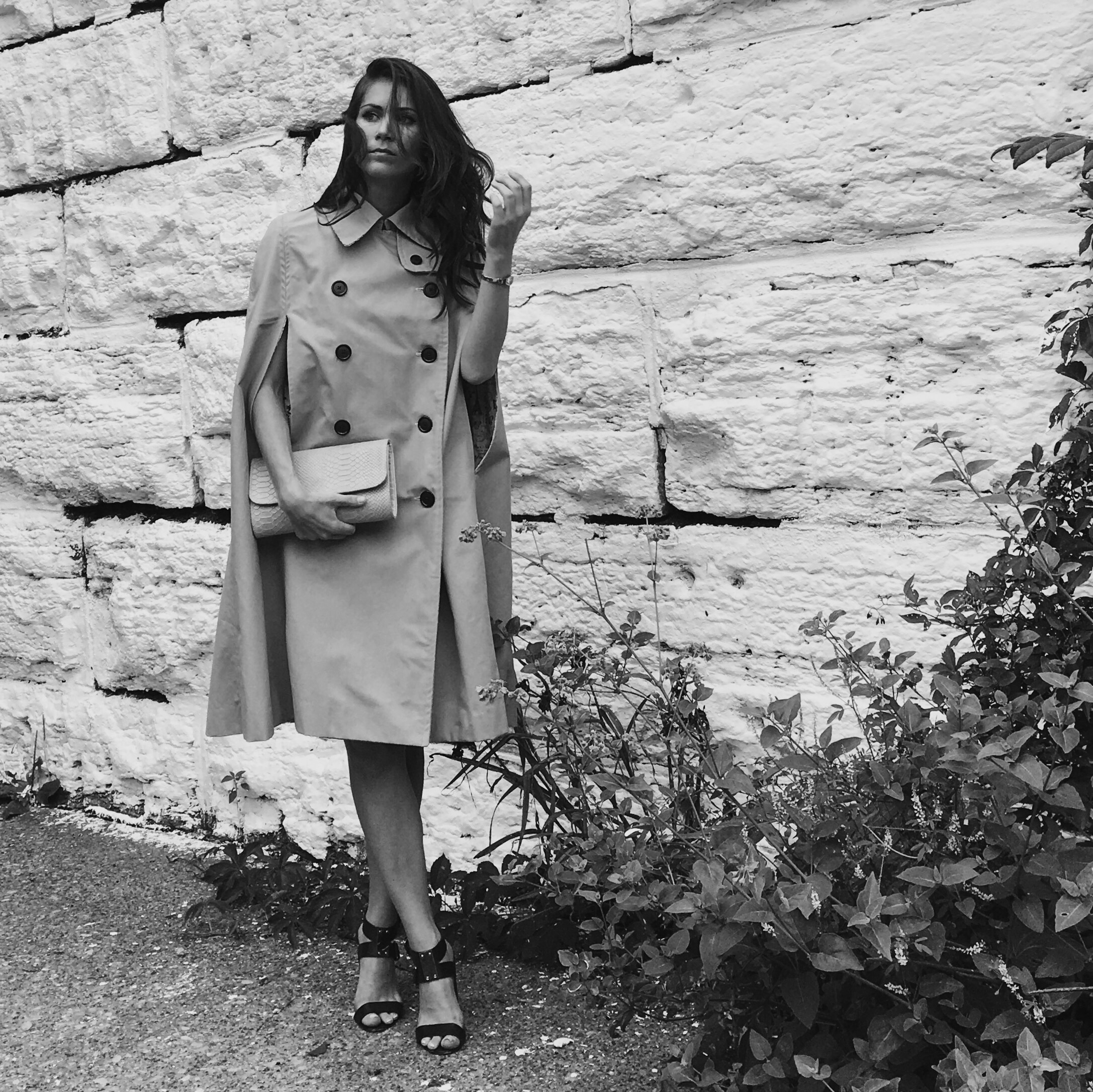 A  trench….cape!
