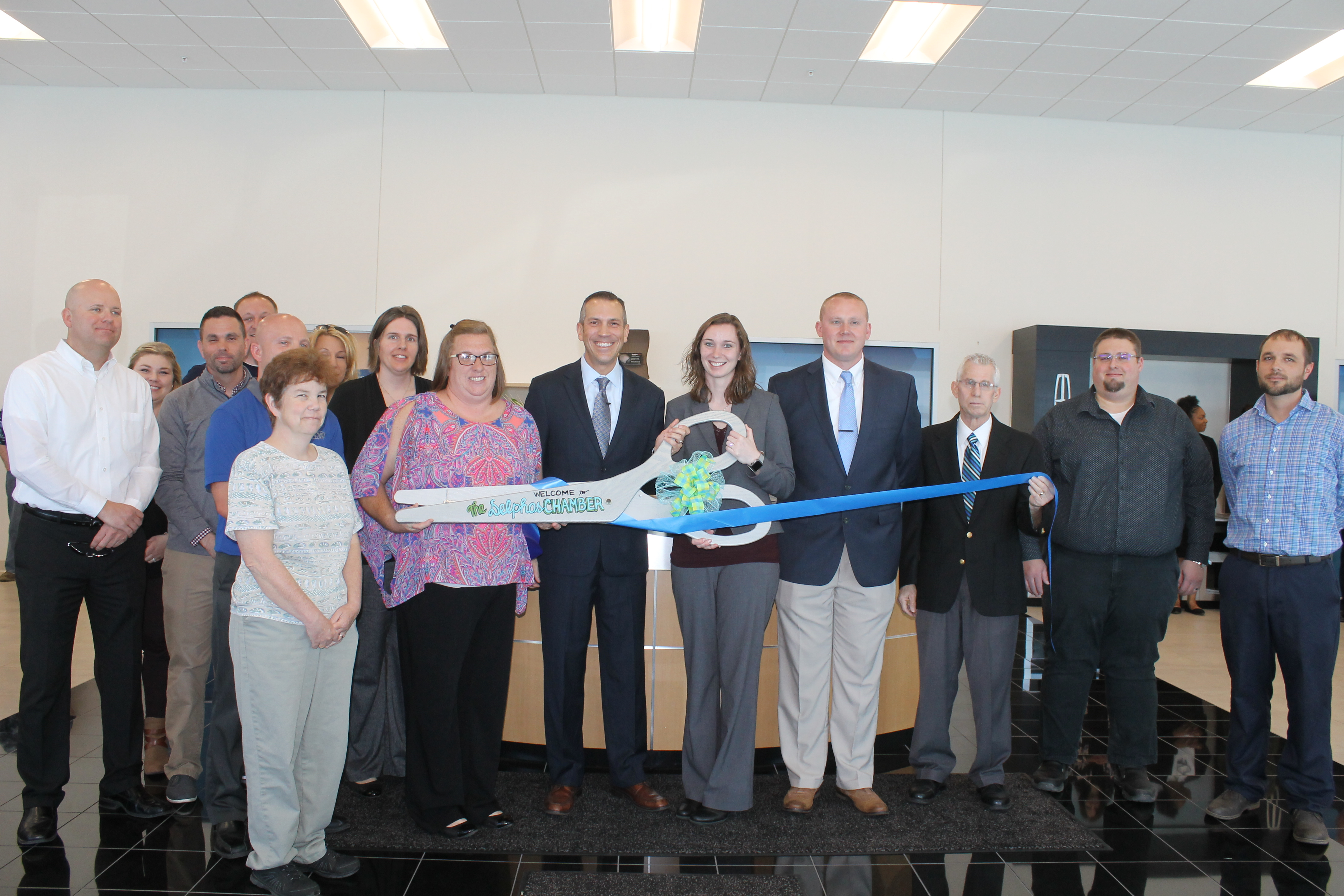 Raabe ford grand re opening