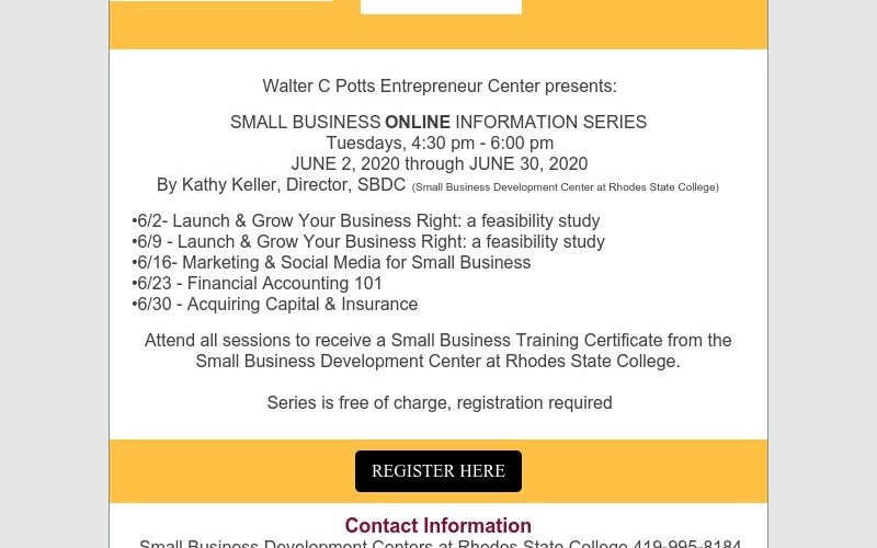 Small Business Information Series