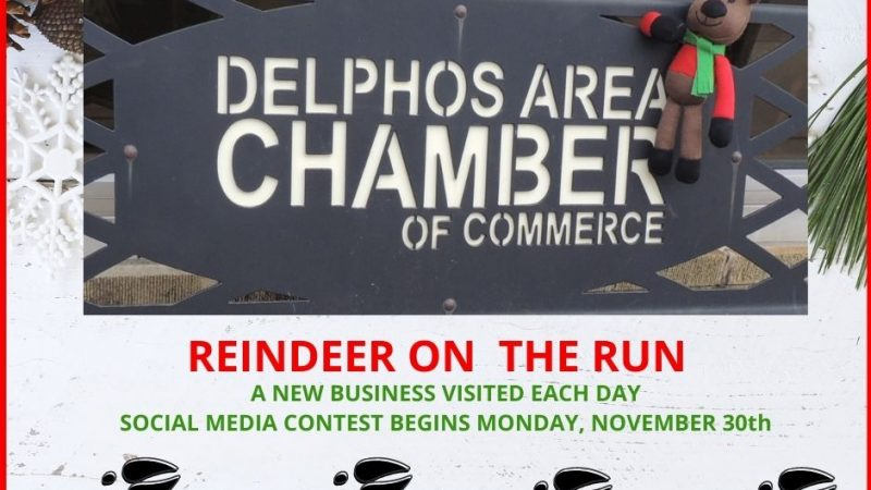 Reindeer on the Run facebook post