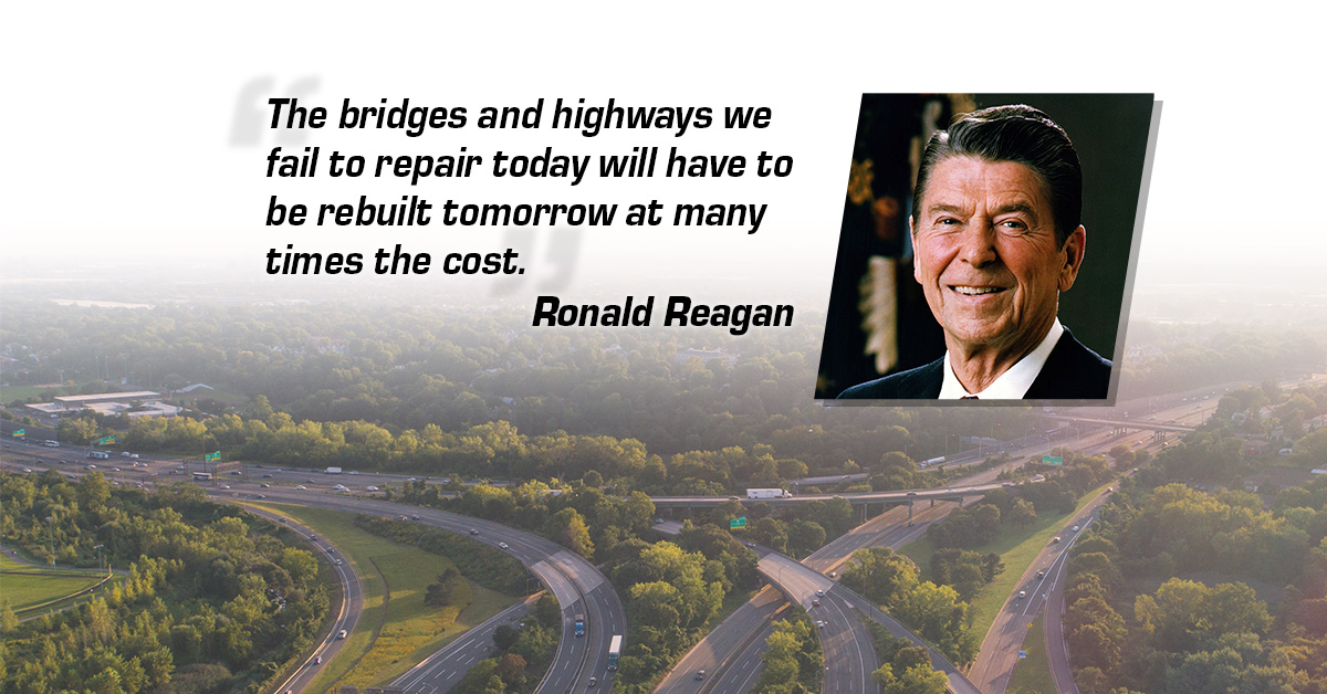 Reagan was Right: Now is the Time to Lean Into Infrastructure