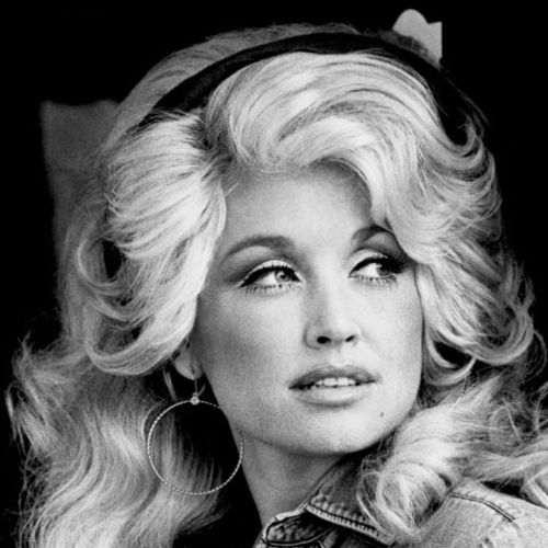 Don't laugh, but, yes, I do love some of Dolly Parton's earlier music. Some of my many favorites are 9To5 for the movie 9To5; also Hard Candy xmas.