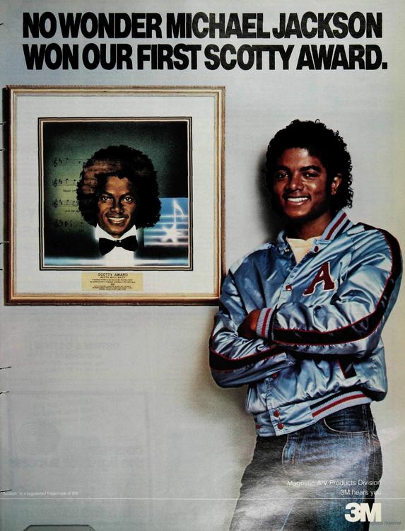 Michael Jackson 3M ad 1981