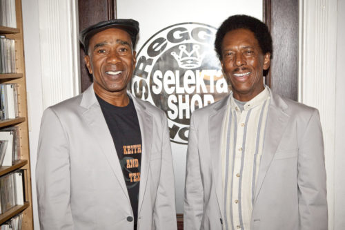 Keith and Tex, reggae legends. Singers of Stop That Train. SpotifyThrowbacks.com