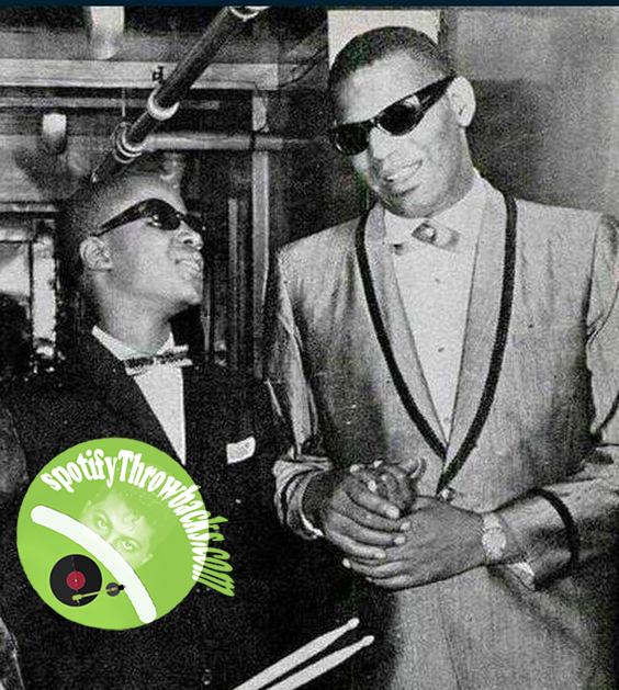 Stevie Wonder & Ray Charles - SpotifyThrowbacks.com