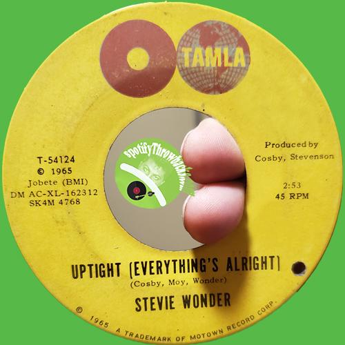 Stevie Wonder - SpotifyThrowbacks.com