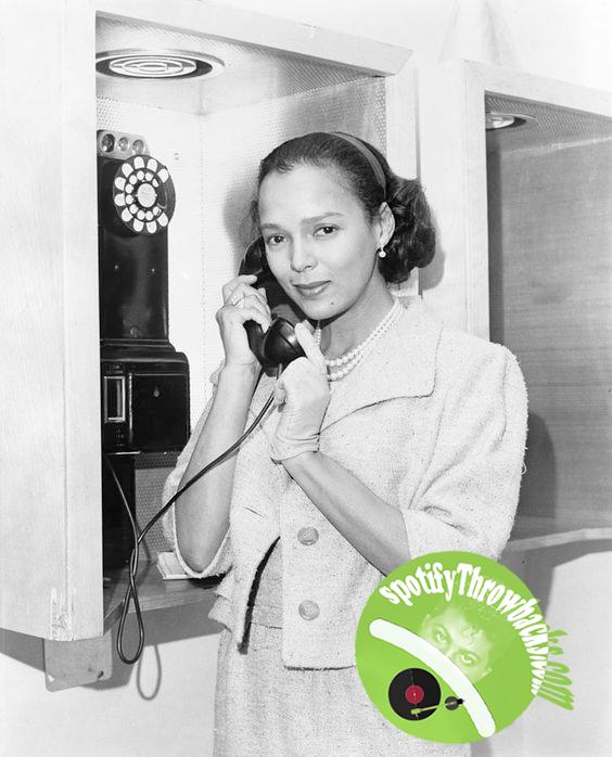 The late Dorothy Dandridge - SpotifyThrowbacks.com