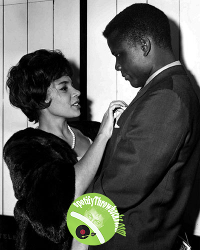 Shirley Bassey & Sidney Poitier - SpotifyThrowbacks.com