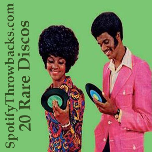 Rare Disco Tunes - SpotifyThrowbacks.com