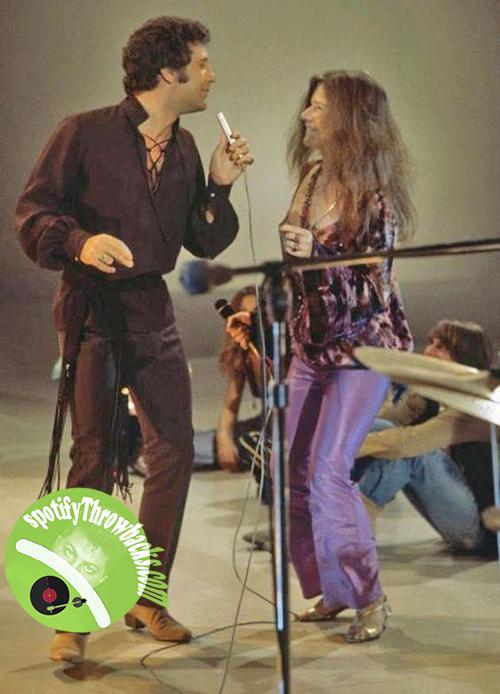 Tom Jones and Janis Joplin - SpotifyThrowbacks.com