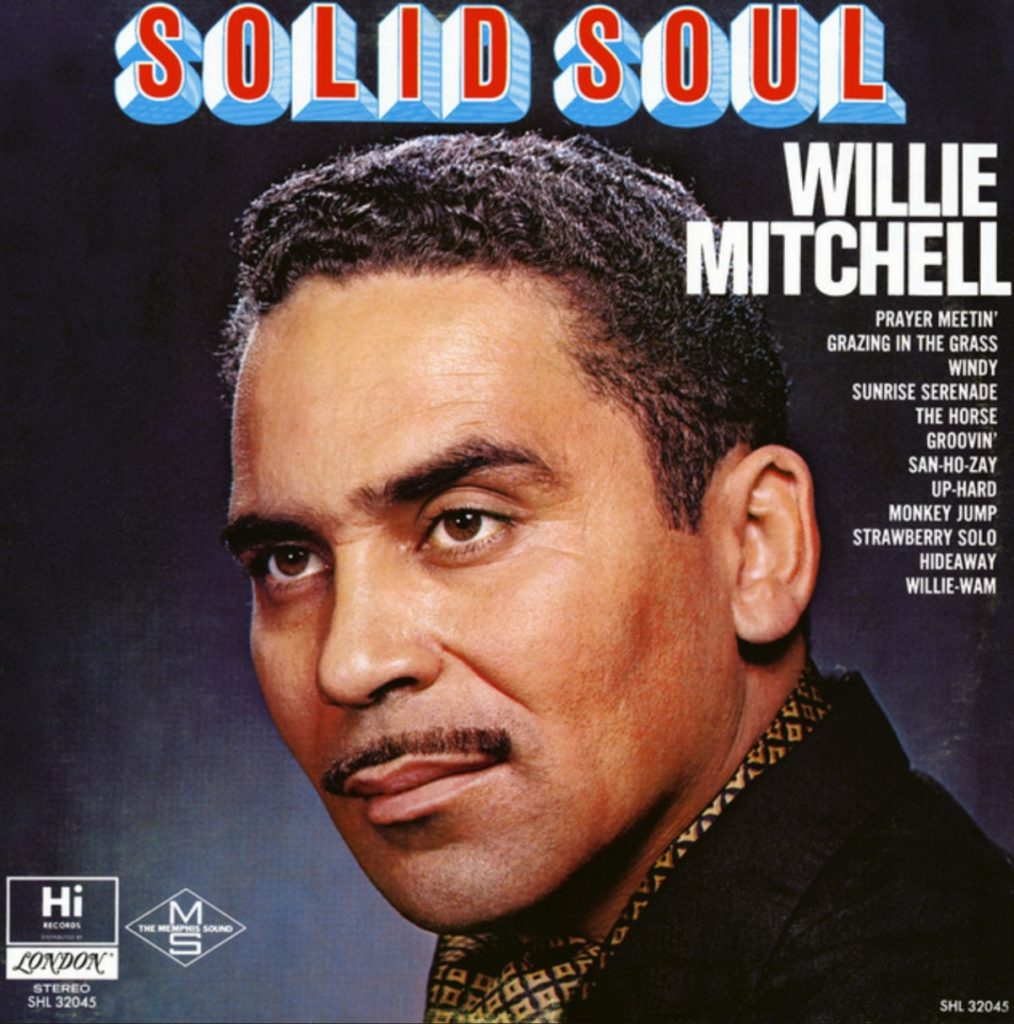 Willie Mitchell - SpotifyThrowbacks.com