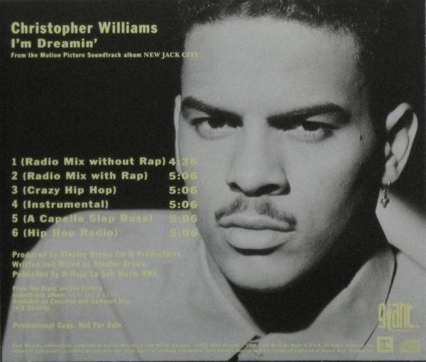 Christopher Williams - SpotifyThrowbacks.com