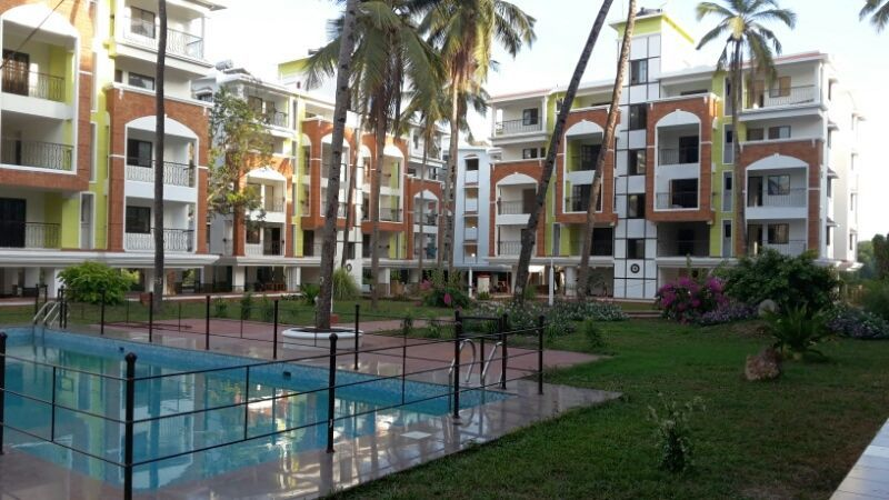 Block B, C, D & Swimming Pool as on 31 May 2016