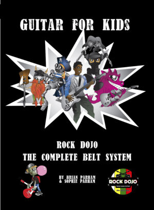 Guitar Method book for Kids Front Cover