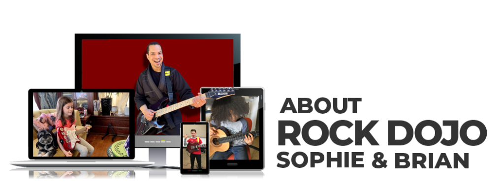 ABout Rock Dojo Guitar Lessons for Kids