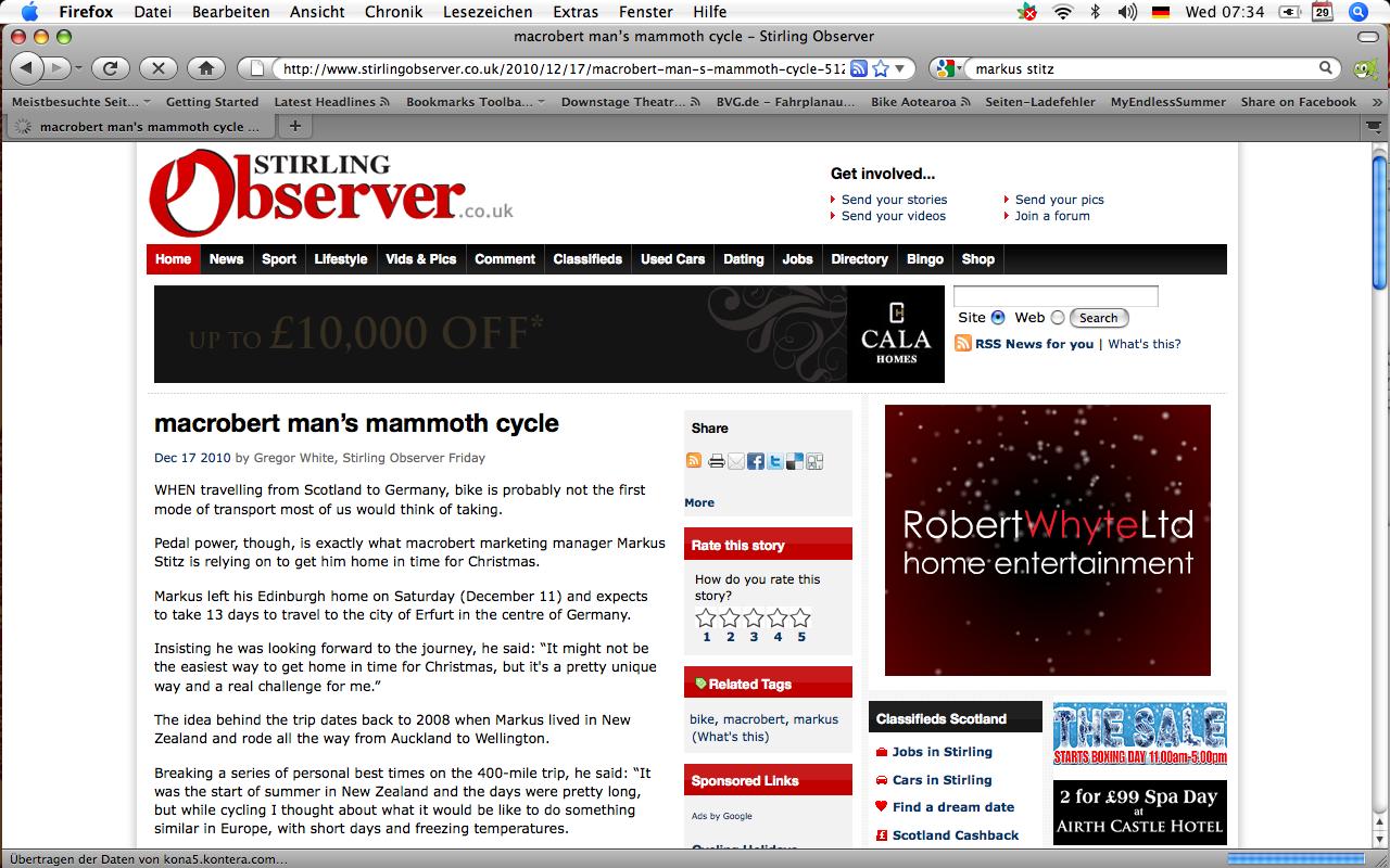 The Stirling Observer Online 17/12/10