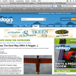 Outdoors Magic article 04/01/11