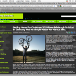 screenshot article cycling scotland