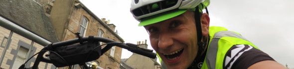 A cunning plan for the start ... and why you don't need a road bike to ride sportives