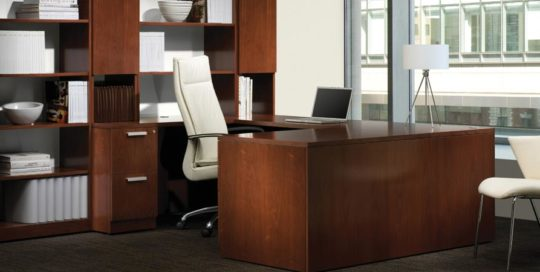Large Government Agency, Steelcase Wood Solutions