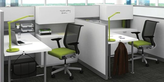Government Agency, Steelcase Answer Panels and Think Chairs