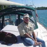 Doc and Coco aboard Eris Island