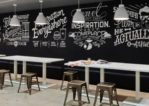 Large Advertising Firm, Specialty Café