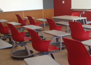 Large Private School, Steelcase Node Chair