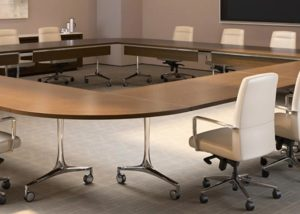 Large Law Firm, Coalesse Table Solution