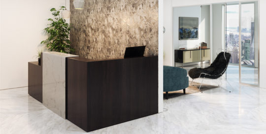 Financial Firm, Unique Space for Midtown Financial Client Using Mitchel Gold + Bob Williams Products