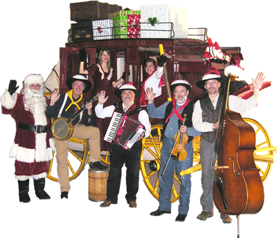 Pioneer Pepper & The Sunset Pioneers. A singing cowboy Christmas!
