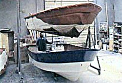 Pre-Foamed Hull & Liner Assembly