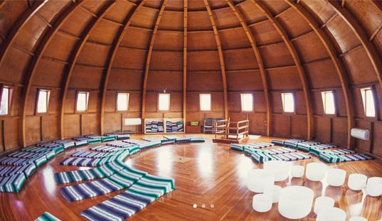 big dome shaped room