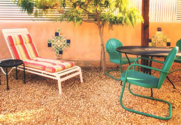 unit 3 courtyard