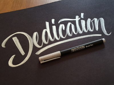 Dedication to my clients and projects