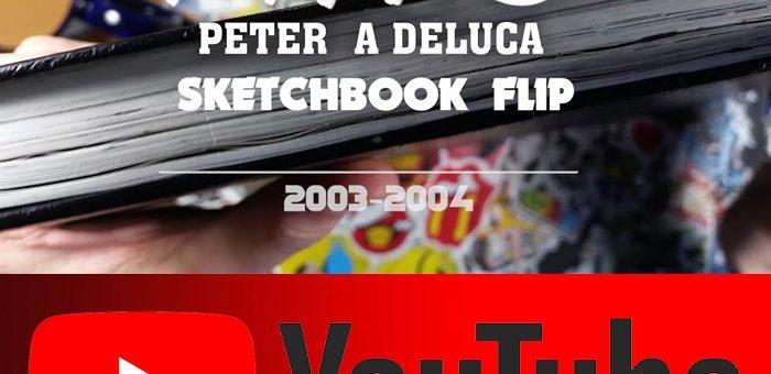 SketchBook #2 Flip Through  Comic Book Production (2003-2004 )