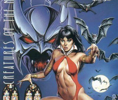 Shadowhawk Vampirella Creatures of the Night
