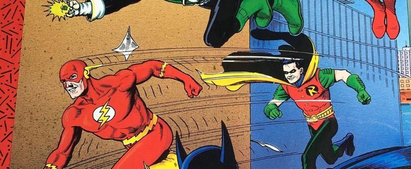 DC Comics Who's Who's Binders Full of Superheroes