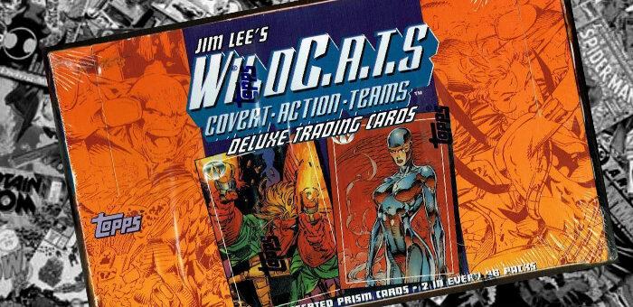 Jim Lee's WildCATS Topps 1993 Box Break