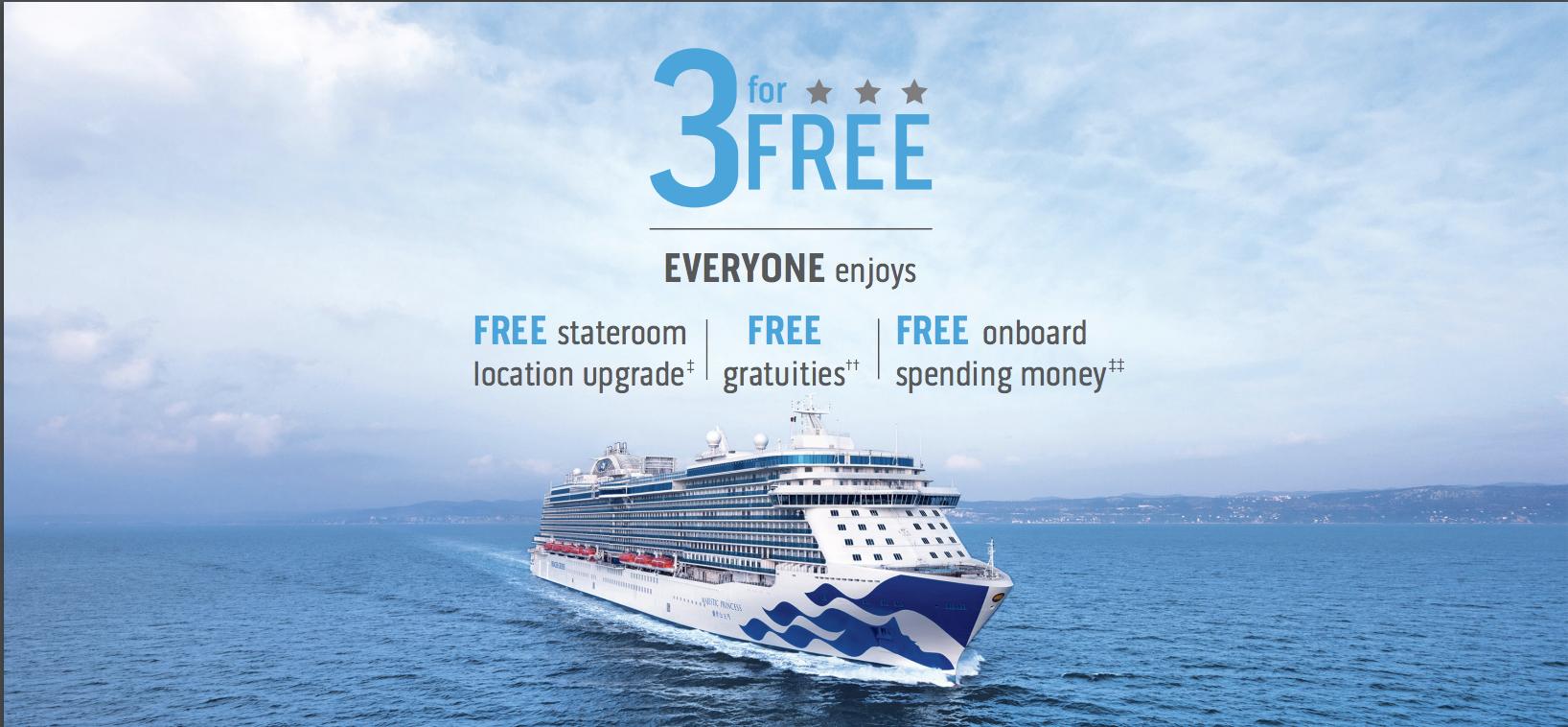 Princess' THREE for FREE Sale