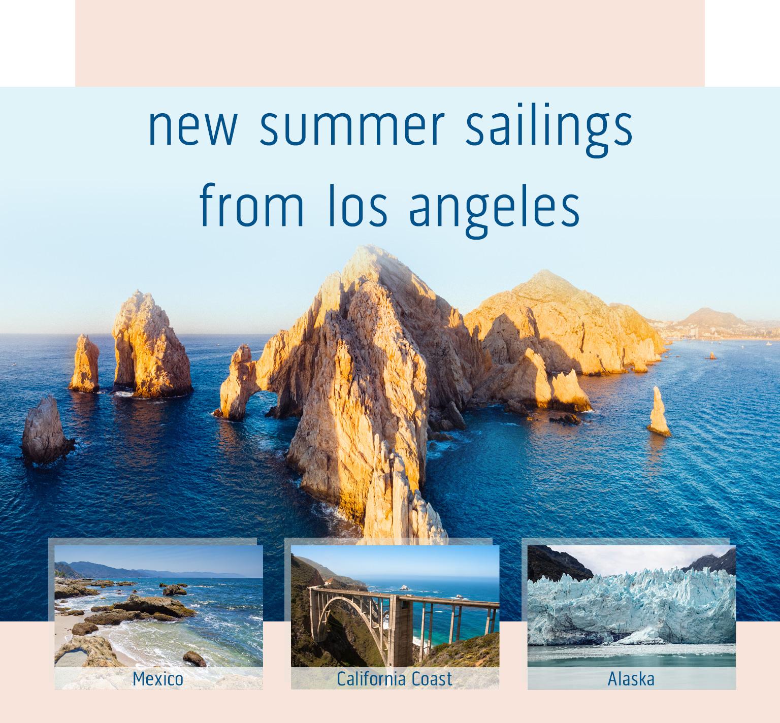 Princess Cruises new summer sailings from Los Angeles
