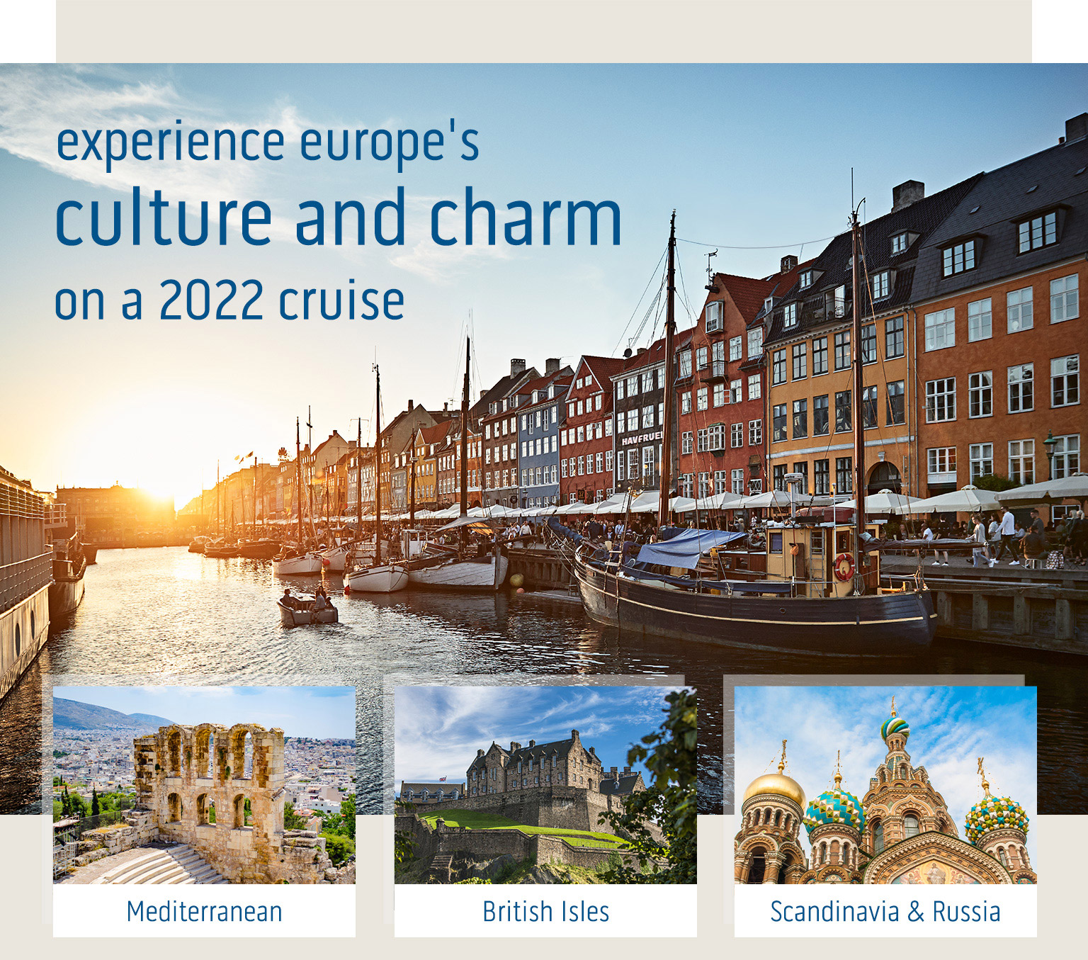 Book with Princess NOW! Europe 2022 cruises open soon!