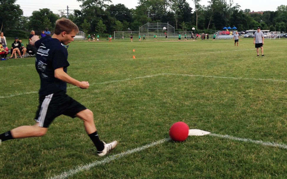 Adult Co-Ed Kickball League in CT