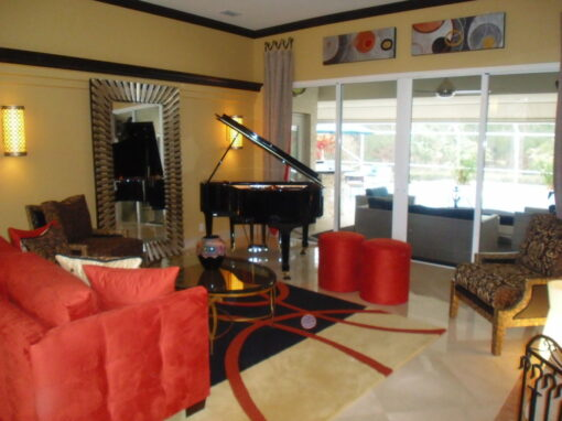 2- Azara Living Room with Piano